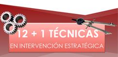 12+1 técnicas en intervención estratégica Julio 2014