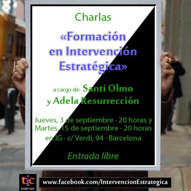 Conferencias Formación en Intervención Estratégica