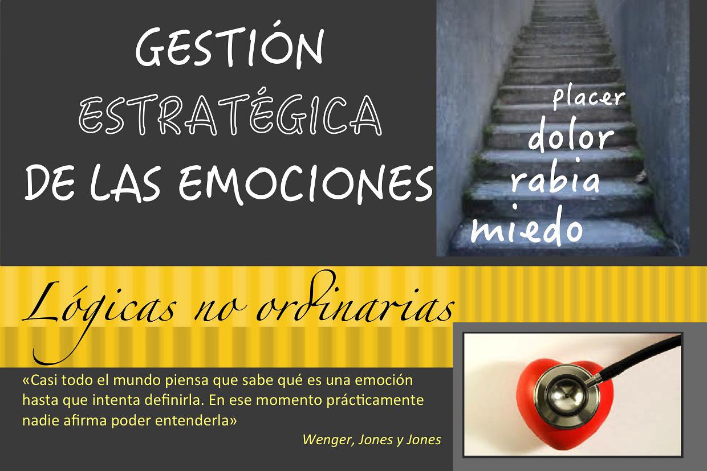 Gestión estratégica de las emociones