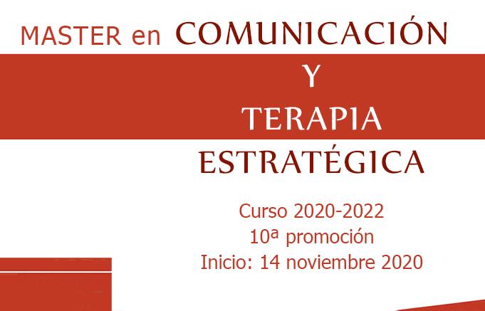 Máster en Comunicación y Terapia Estratégica